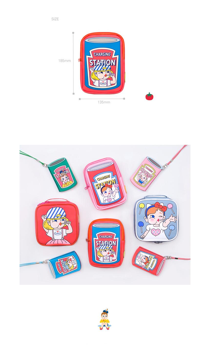 벤토이 롤리팝 보조배터리 파우치 - 251w, 9,000원, 다용도파우치, 지퍼형