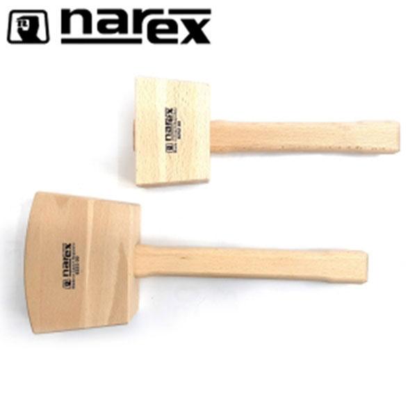 NAREX 나무망치 대목수용-사각