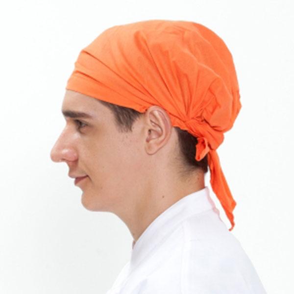단색 두건 오렌지 C-118