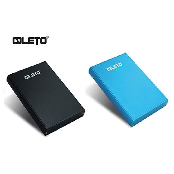 "LETO 외장하드 T2SU30 500GB 블루 2.5"" USB3.0"