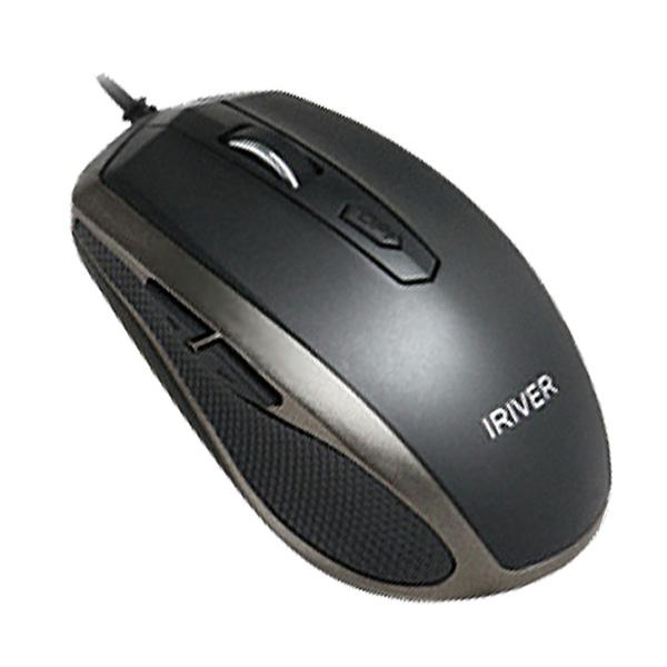 아이리버 유선광마우스 IR-M5000 블랙