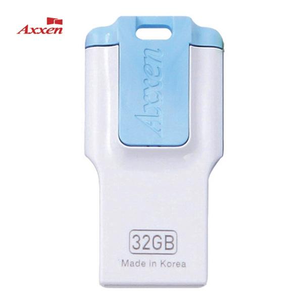 엑센 USB 저장장치 64G H43 블루