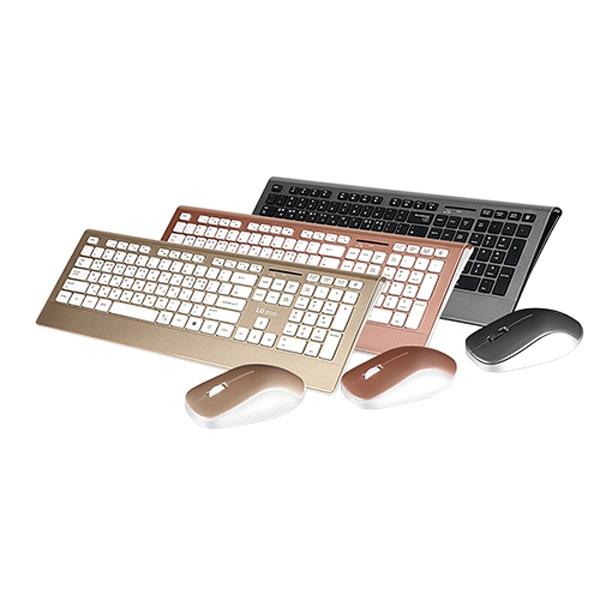 엘지 무선마우스+키보드세트 MKS-4000 로즈골드 +고속충전데이터케이블 컬러랜덤
