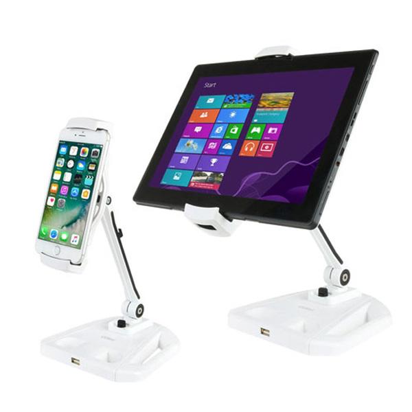코시 스틸태블릿&스마트폰거치대 USB1포트 ST3143