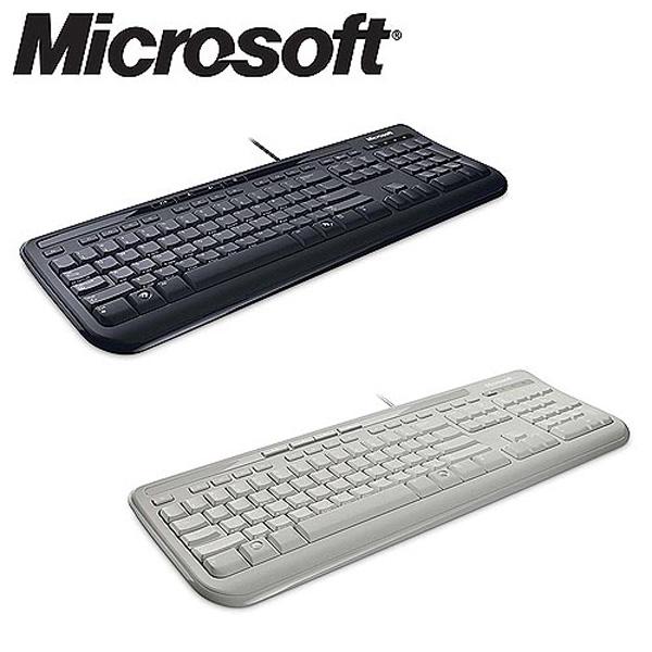 마이크로소프트 멀티미디어키보드 600 블랙