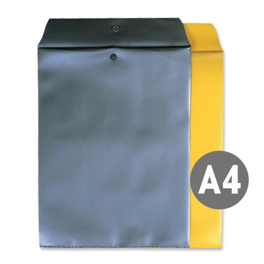 비닐 서류봉투 회색