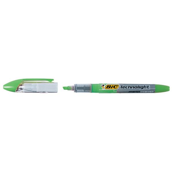 BIC 테크노라이트 형광펜 녹색