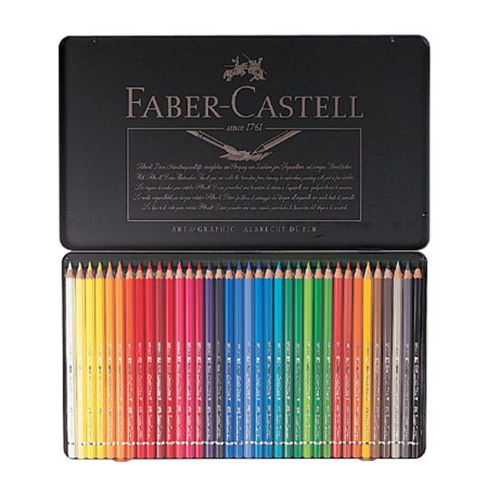파버카스텔 전문 수채색연필 36색 틴케이스 117536