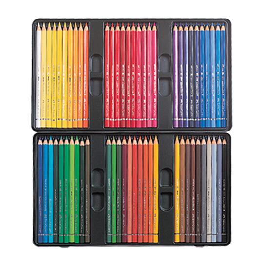 파버카스텔 전문 수채색연필 72색 틴케이스 117571