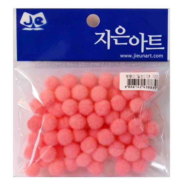 뿅뿅이 일반 12 분홍 만들기재료