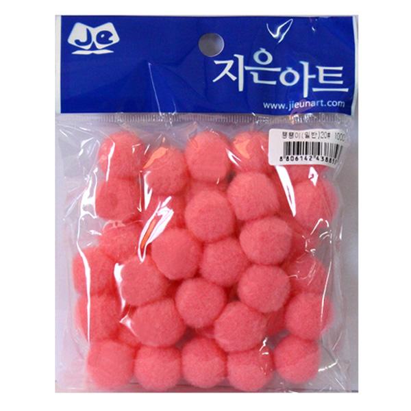 뿅뿅이 일반 20 분홍 만들기재료