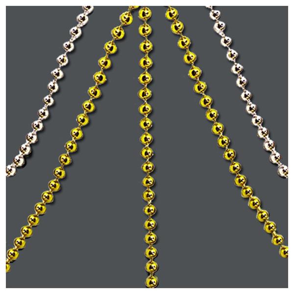 체인구슬 원형3mm -금색