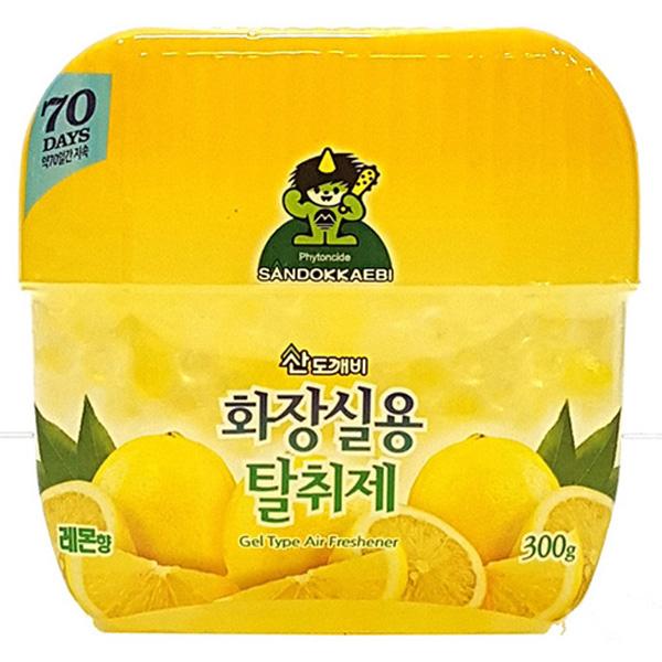산도깨비 화장실용탈취제 레몬향 300g