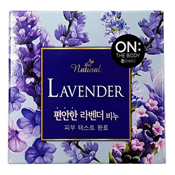 LG생활 온더바디비누 라벤더