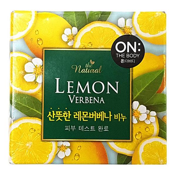 LG생활 온더바디비누 산뜻한 레몬버베나 비누