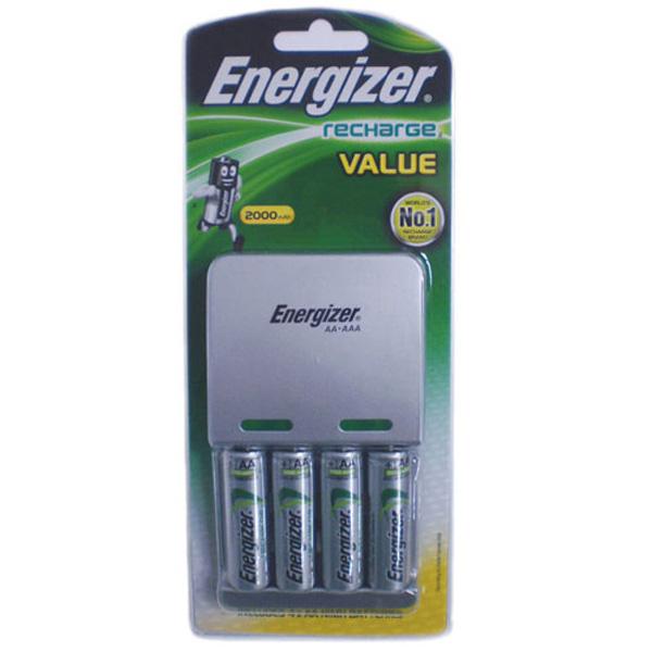 에너자이저 충전기+충전지AA4 CHVCM