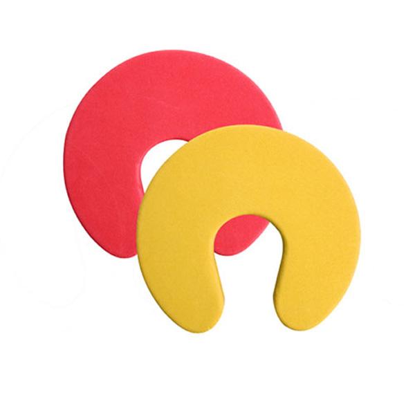 아트사인 도어패드 노랑,적색 94*94*18mm 2개입 L0010 9863
