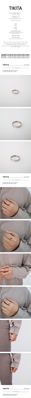 남자 심플 반지 써지컬스틸 실버 링 SILVER SIMPLE - 티키타, 13,000원, 남성주얼리, 반지
