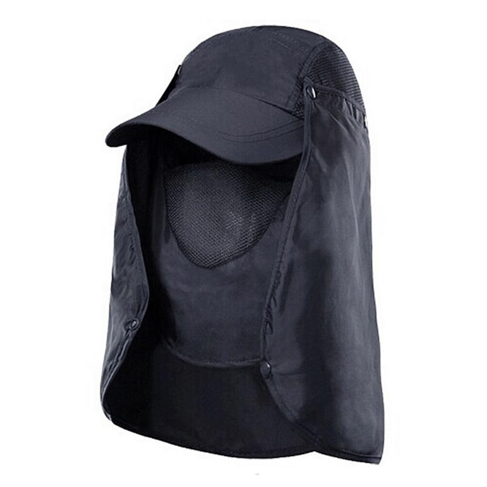 여름 자외선 햇빛가리개 플랩 등산 모자 햇볕가리개