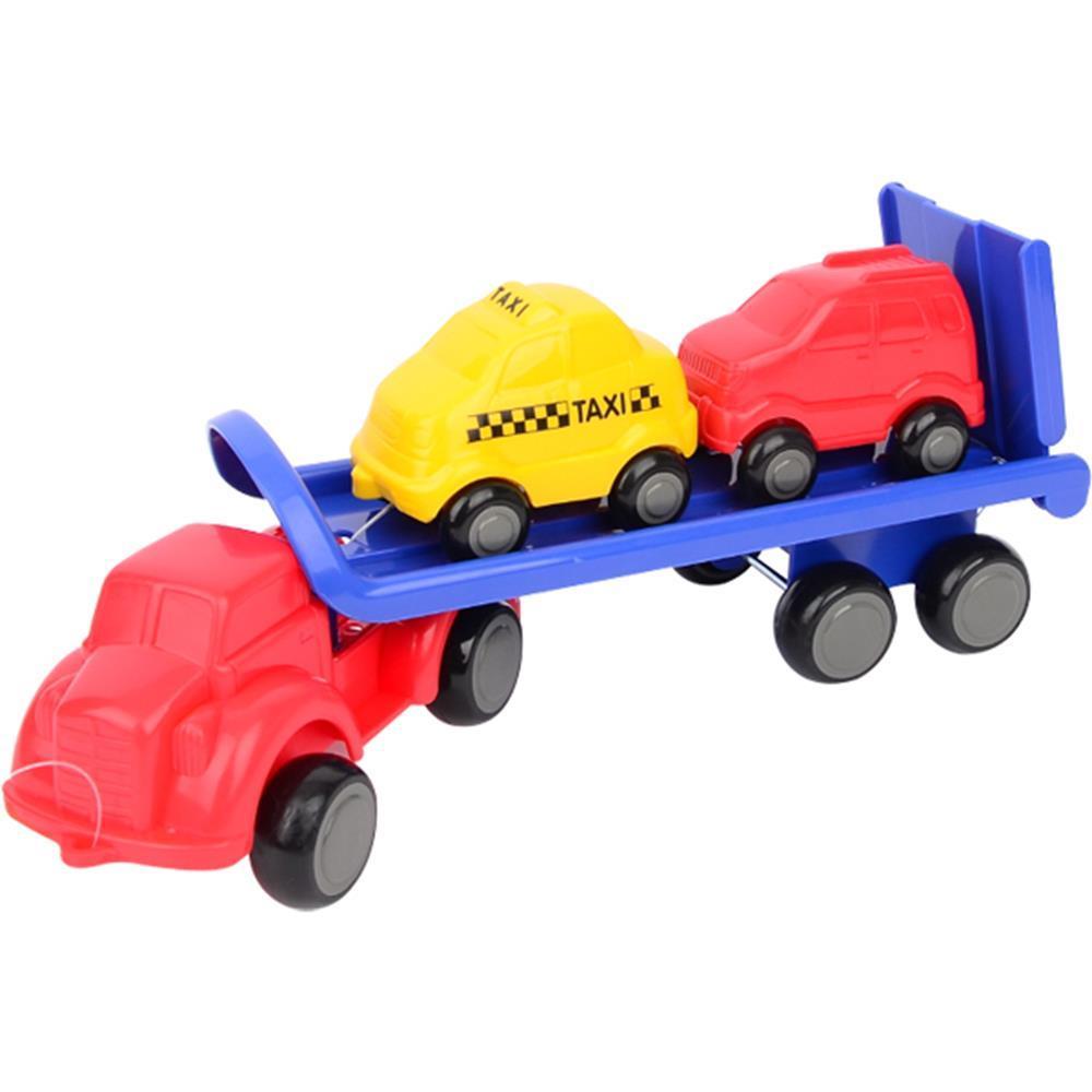아기 자동차 놀이 작동 완구 카캐리어 자동차옮기기