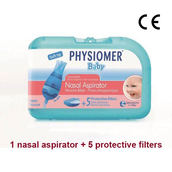 Physiomer Baby Nasal Aspirator Protective Filters No