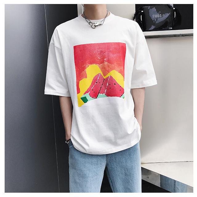 워터멜론 반팔 티셔츠