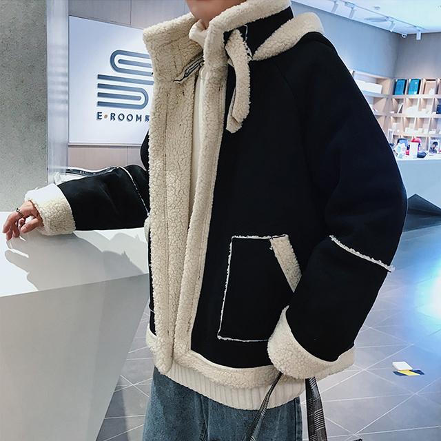 윈터 양털 무스탕 자켓