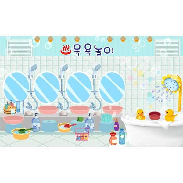 [키즈파람] 목욕놀이현수막009