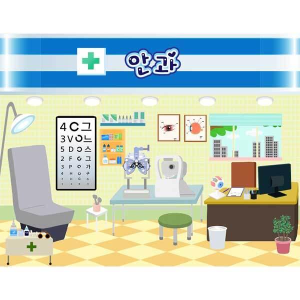[키즈파람] 병원놀이현수막020
