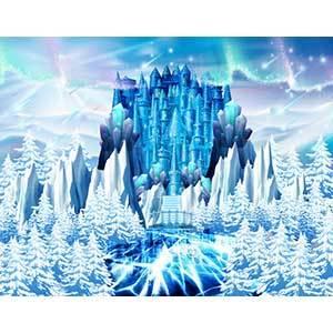[키즈파람] 겨울현수막061 - 얼음왕국