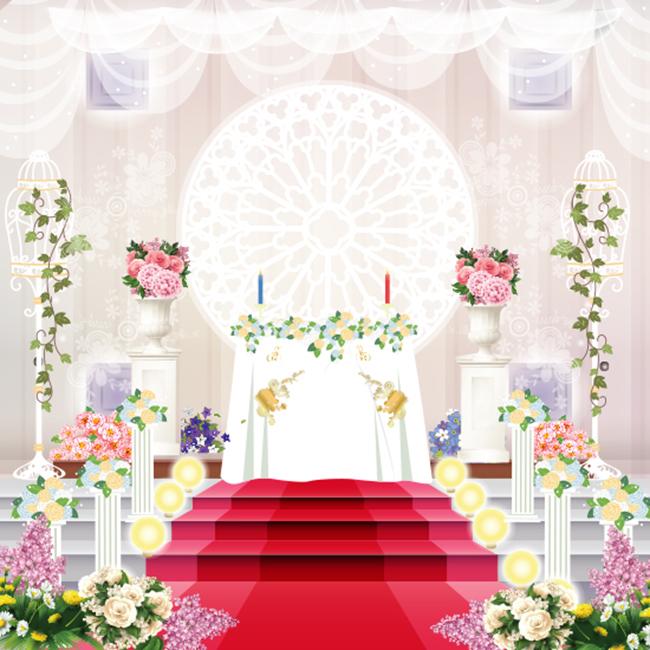 포토월 123 - 결혼식배경