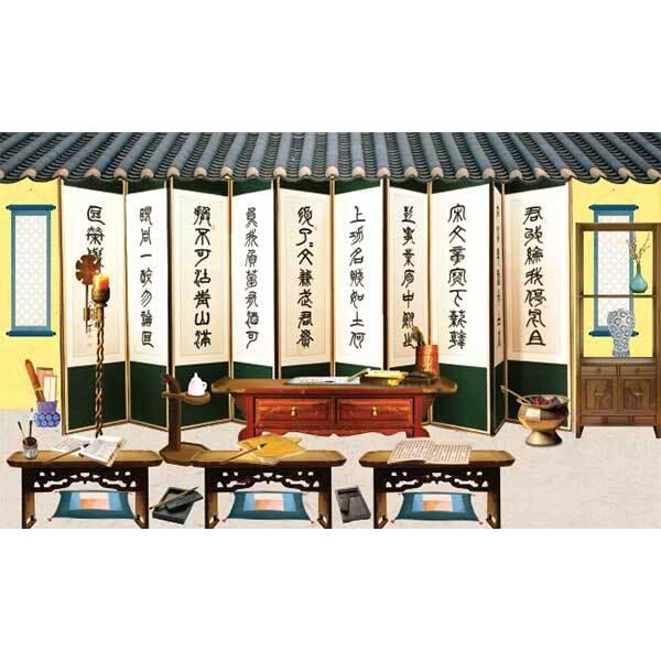 [키즈파람] 전통배경현수막143