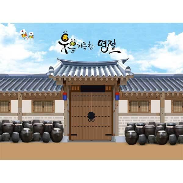 [키즈파람] 전통배경현수막144