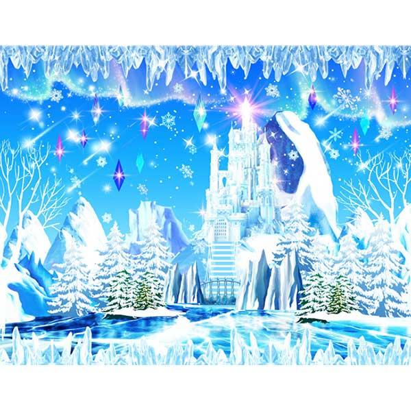 [키즈파람] 겨울현수막064 - 얼음왕국