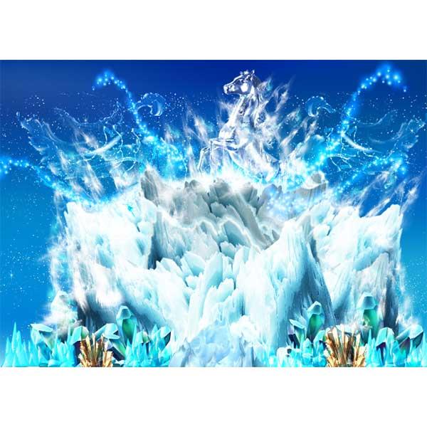 [키즈파람] 겨울현수막067 - 얼음왕국