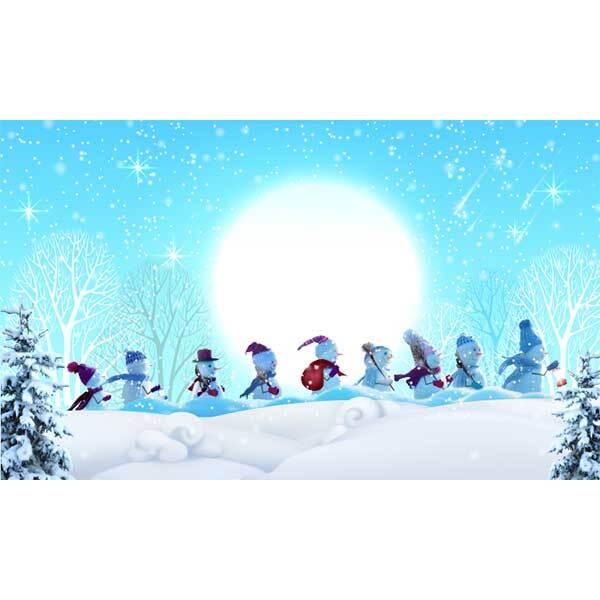 [키즈파람] 겨울현수막073 - 눈사람