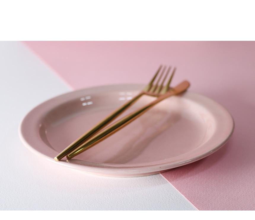 하스 핑크 플레이팅 3p 세트 - 키친몰링, 32,800원, 식기홈세트, 1인세트