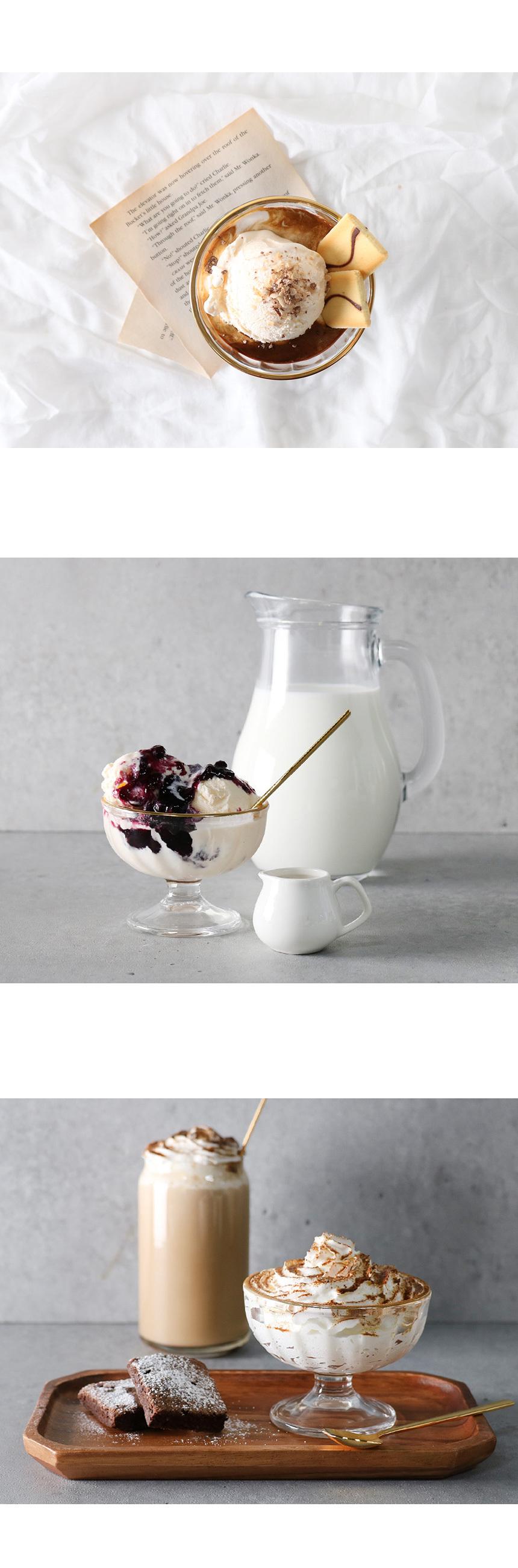 골드라인 유리 아포카토 컵 - 키친몰링, 10,500원, 유리컵/술잔, 유리컵