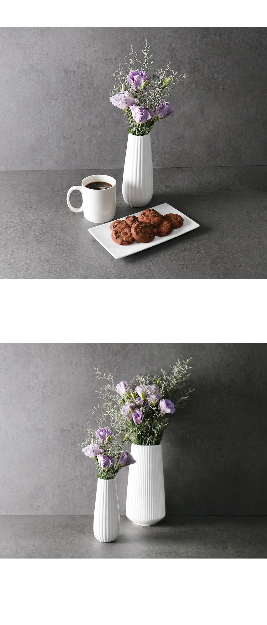 케렌디아 도자기 인테리어 화병 2size - 키친몰링, 6,200원, 장식소품, 도자기류
