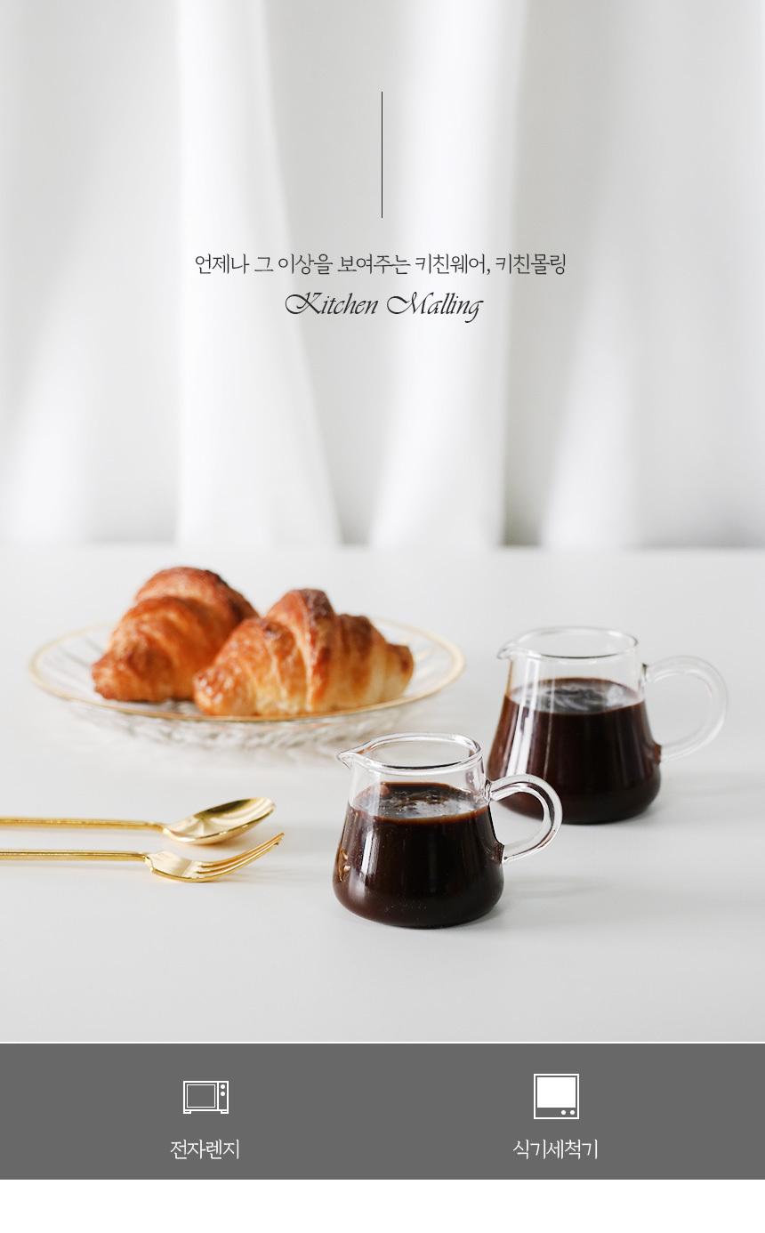 끌레르 홈카페 내열유리 샷잔 2size - 키친몰링, 3,800원, 커피잔/찻잔, 커피잔/찻잔