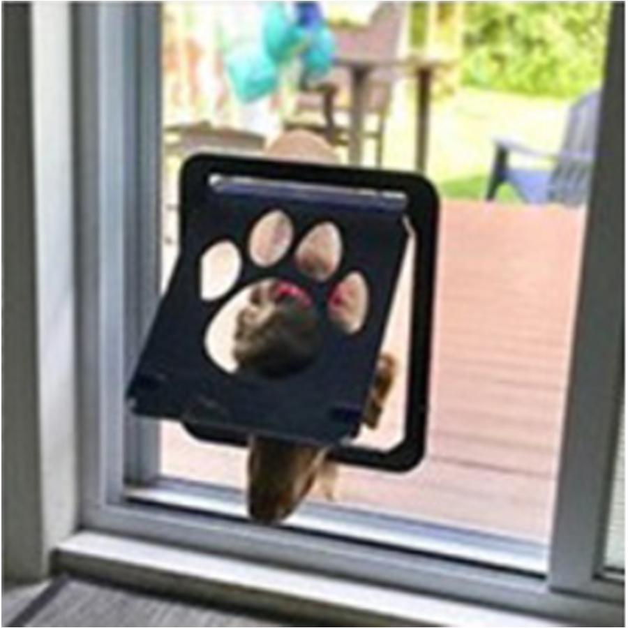 강아지 고양이 베란다 방문 스크린 방충망 도어 출입문 안전문 외부 37x42cm 출입구
