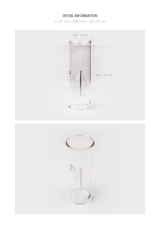 Firelight Aria Lamp 9 1/2인치 사이즈