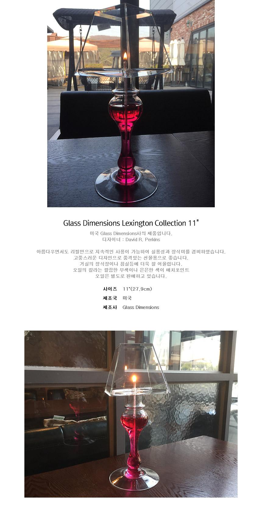 램프플러스 Glass Dimensions Lexington Collection
