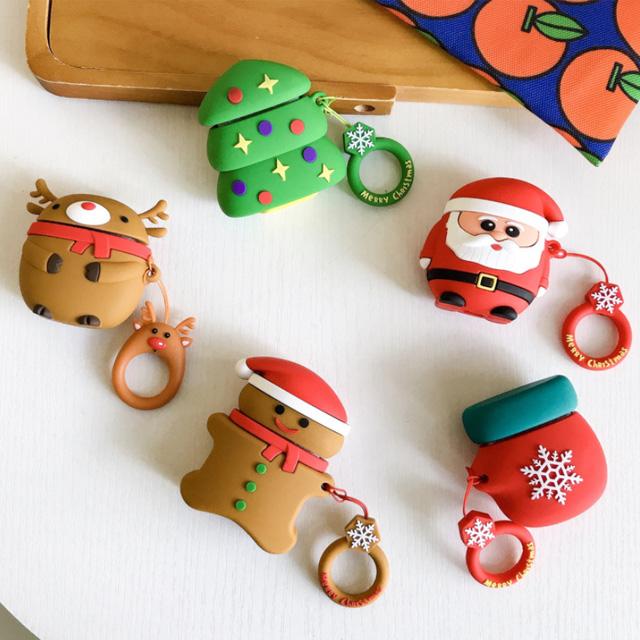 미리산타 크리스마스 젤리 에어팟 케이스