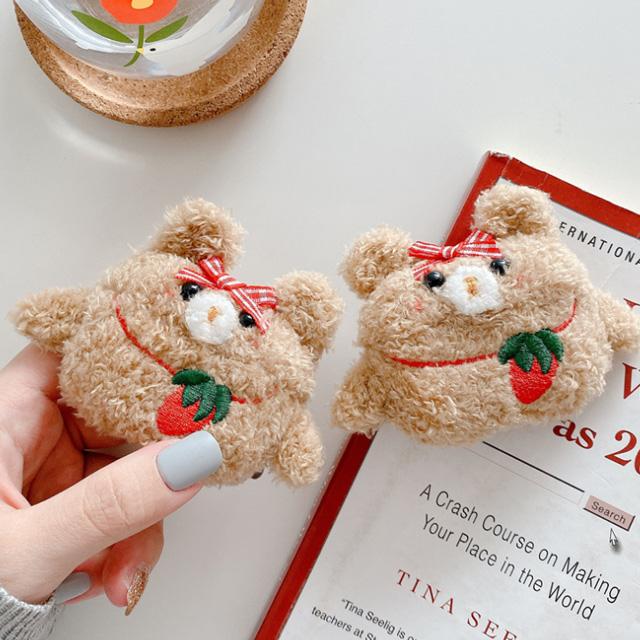 Z_딸기곰 에어팟케이스