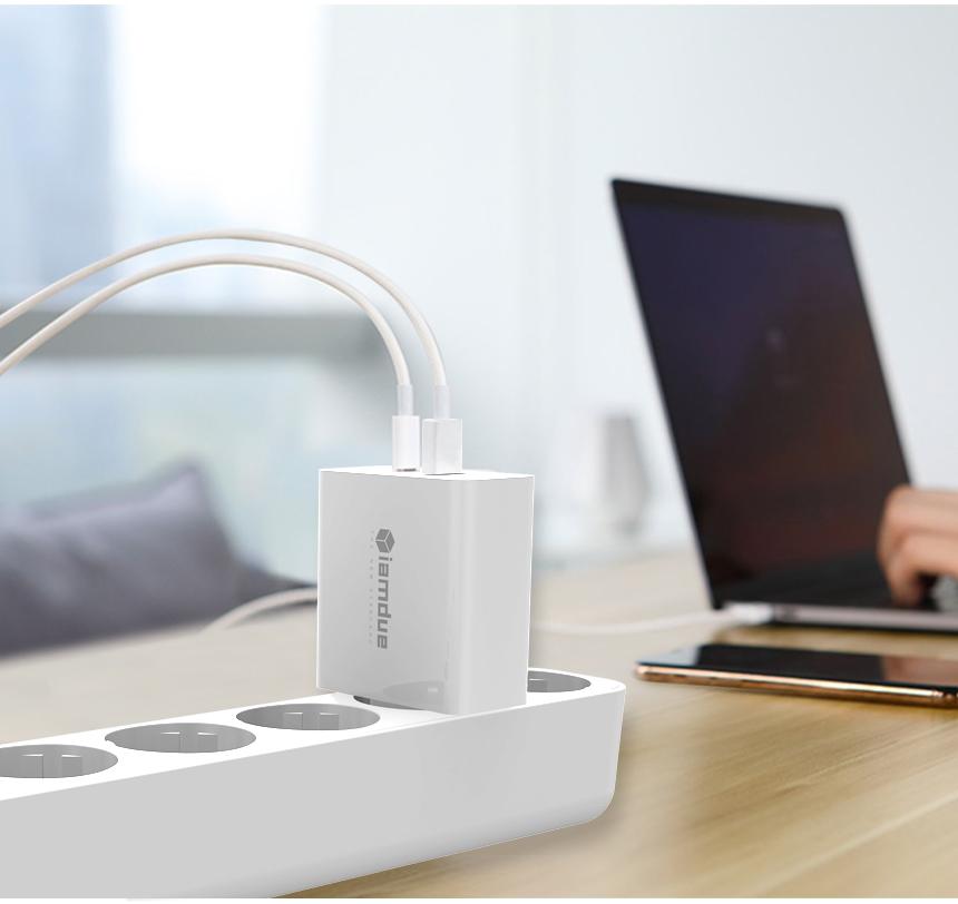 USB PD 퀵차지 3.0 고속 멀티 C타입 충전기 MPD302 - 아이엠듀, 25,900원, 충전기, 멀티충전기