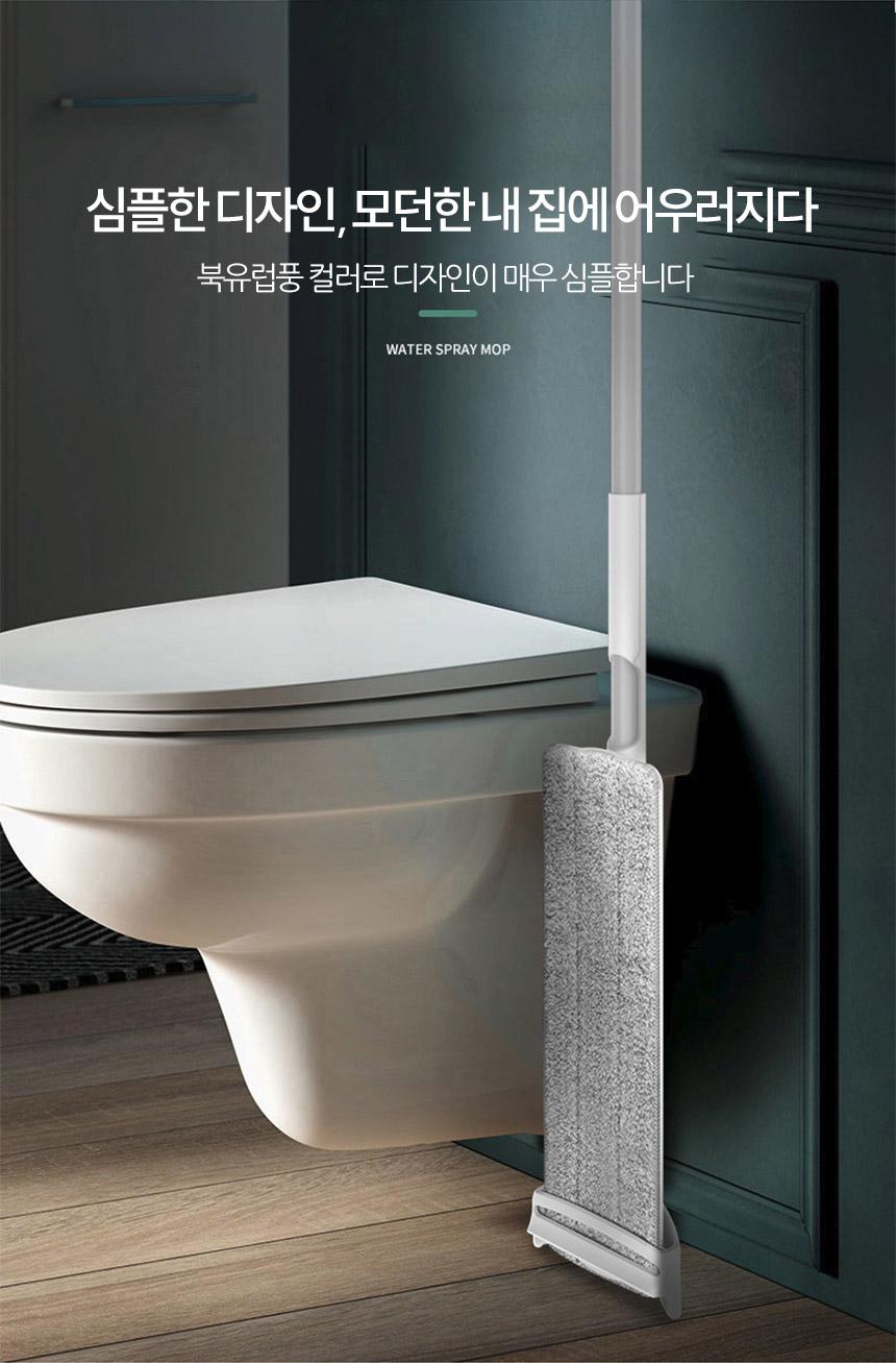 어니우니 스프레이 물걸레 밀대 청소기 패드 세트 - 아이엠듀, 25,900원, 청소도구, 회전밀대