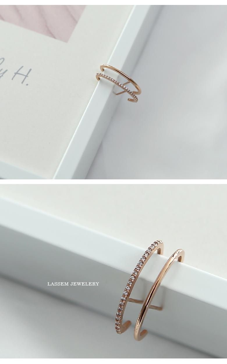 14K 이어커프 정려원 귀걸이 - 아이홈 가구, 128,000원, 골드, 14K/18K