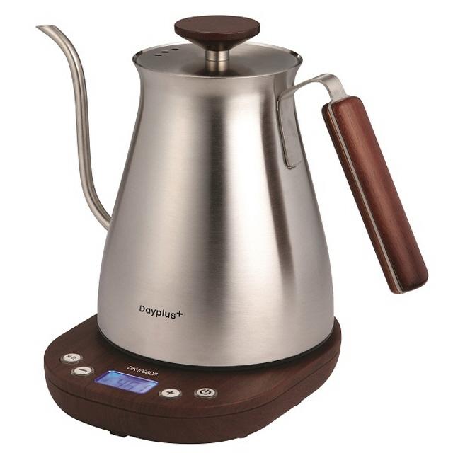 데이플러스 커피 드립 무선 포트 DIK-1008DP 온도조절 보온기능