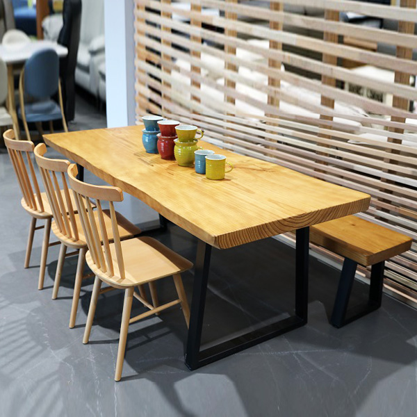 뉴송 우드슬랩 식탁 테이블
